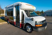 16 Passanger bus for your staff party,weddings or anything else.
