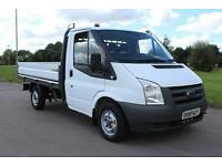 Ford Transit T300 110 FWD DROPSIDE 20,000 MILES 08 REG £6995 + VAT