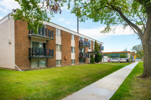 Fully renovated 2 bedroom suite in downtown Edmonton for sale