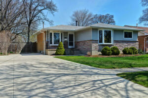 Renovated bungalow for rent in North Sarnia!