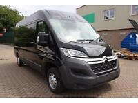 2017 Citroen Relay 2.0 BlueHDi L3H2 Van 130ps Enterprise Diesel black Manual