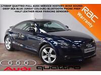 2009 Audi TT Coupe 2.0TDI 170BHP quattro-FULL AUDI HISTORY-B/TOOTH-BOSE SOUND-