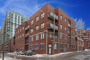 Beautiful 3 1/2, 1300/month, for July 1st, downtown Griffintown