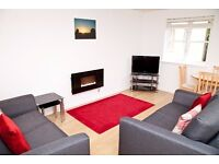 Short Term - Modern one bedroom flat in Abbeyhill with parking