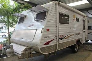 2008 Galaxy Fulcher Grand Tourer Semi Off Road Caravan Tweed Heads Tweed Heads Area Preview
