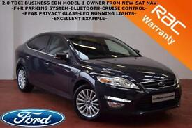 2012 Ford Mondeo 2.0TDCi Zetec Business Edition-SAT NAV-CRUISE-B/TOOTH-F/S/H-