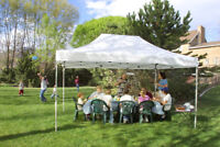 Pop-Up Canopy   For Rent   Great Prices!