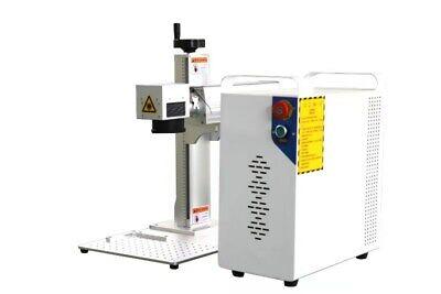 Raycus 100w Fiber Laser Marking Machine Usb Metal Cut Aluminum Mark Deep Cut Pc