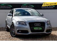 2009 09 AUDI A3 2.0 TDI S LINE SPECIAL EDITION 3D AUTO 168 BHP DIESEL