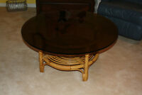 Rattan Coffee and End tables