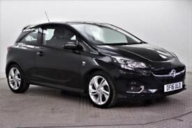 2016 Vauxhall Corsa SRI VX-LINE S/S Petrol black Manual