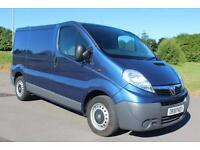 Vauxhall Vivaro 2.0CDTi ( 115ps ) ( EU V ) Diesel Van SWB 13 Reg £7,895 + VAT