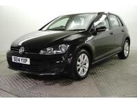 2014 Volkswagen Golf SE TDI BLUEMOTION TECHNOLOGY Diesel black Manual