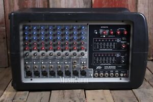 peavey 8600 mixer amplifier 1200 wtts   rms  and spraker