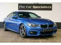 """BMW 430d M SPORT M PLUS PACK FULL 19"""" ALLOYS FRONT & REAR PDC PRO HEATED SEATS"""