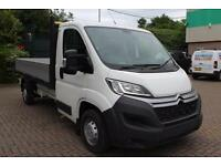 2017 Citroen Relay 2.2 HDi Crew Cab Dropside 130ps Diesel white Manual