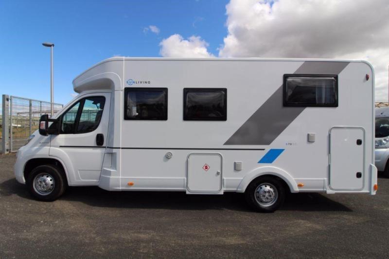 Adria Sunliving S70SC 3 Berth Motorhome for sale