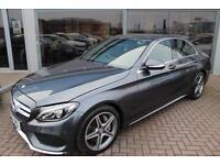 Mercedes C250 BLUETEC AMG LINE. VAT QUALIFYING