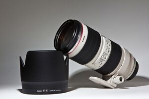canon EF 70 200 2.8 L IS II telephoto lens