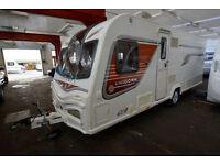 2014 Bailey Vigo 4 Berth Touring Caravan with Fixed Island Bed
