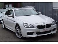2015 BMW 6 Series 640 Gran Coupe 3.0d 313 DPF SS EU5 M Sport Auto8 Diesel white