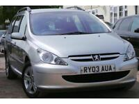 2003 Peugeot 307 SW 2.0 HDi S 5dr (a/c)
