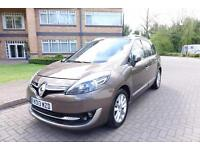 SOLD 2013 Renault Grand Scenic 2.0 Dci Auto Left hand drive lhd UK Registered