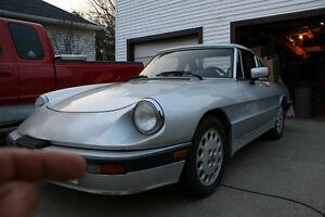 Alfa Romeo Spider Quad mid restoration sale