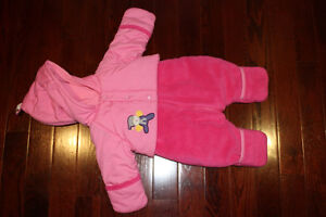 Girls 6 month snowsuit