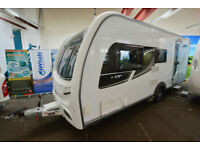 2013 Coachman VIP 520 4 Berth Touring Caravan with Side Dinette