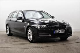 2014 BMW 5 Series 520D SE TOURING Diesel black Automatic