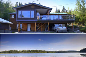 Lakefront Home with Suite, Shop, Cabin, Garden and More...