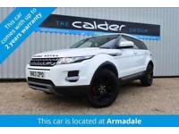 2013 63 LAND ROVER RANGE ROVER EVOQUE 2.2 SD4 PURE TECH 5D 190 BHP DIESEL