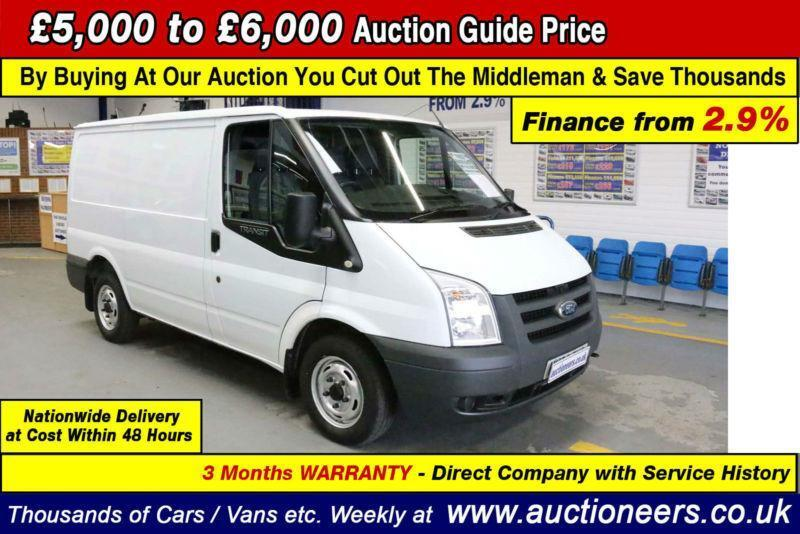 a59013dc10 2010 - FORD TRANSIT T260 2.2TDCI 85PS FWD SWB VAN (GUIDE PRICE)