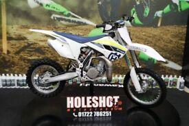 2017 HUSQVARNA TC 85 MOTOCROSS BIKE SMALL WHEEL, NEW GRIPS