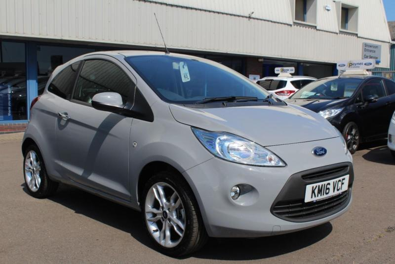 ford ka titanium 1 2 69ps in grey matter a c onsite in hinckley leicestershire gumtree. Black Bedroom Furniture Sets. Home Design Ideas
