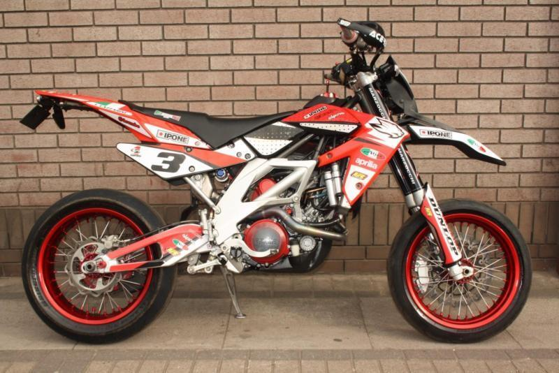 aprilia sxv 450 supermoto race bike track 550 yzf crf ktm in leicester leicestershire gumtree. Black Bedroom Furniture Sets. Home Design Ideas