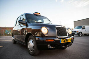 London Cab Specialty Movie Vehicle, Right Hand Drive RHD LTI