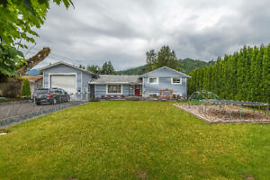 SOLD - IMMACULATE FAMILY SIZE HOME in AGASSIZ!
