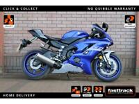 YAMAHA YZF R6 2020 - 1 OWNER - LOVELY CONDITION - 3 KEYS INCLUDING RED KEY