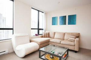Furnished 1 bedroom condo apartment Vancouver Yaletown