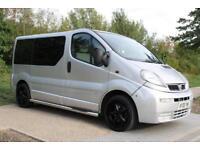 Vauxhall Vivaro 1.9 DTI 16v 2900 Combi 5dr (9 Seats, SWB) 18''ALLOYS, SIDE STEPS