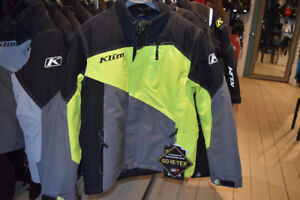 KLIM SNOWMOBILE RIDING JACKETS, BIBS, BOOTS AND GLOVES IN STOCK!