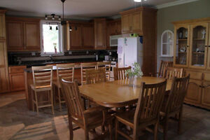 NEW MENNONITE MADE DINING FURNITURE FOR SALE