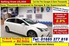2014 - 14 - TOYOTA AVENSIS ICON 2.0 D-4D 5 DOOR ESTATE (GUIDE PRICE)