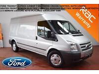 DEC 11 Ford Transit 2.2TDCi (125PS) RWD T350 Trend-CRUISE-B.TOOTH-AUTO LIGHTS
