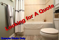 Bathroom Reno Quote