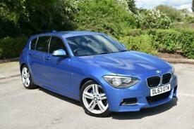 image for 2014 BMW 118d M Sport Diesel 59,000 Miles FSH New Timing Chain Estoril Blue Met