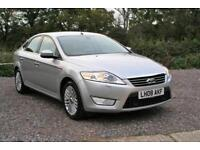 2008 FORD MONDEO 2.3 GHIA AUTOMATIC. ONE OWNER 50000 MILES FULL SERVICE HISTORY