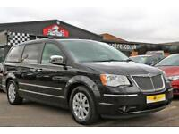 2009 Chrysler Grand Voyager 2.8 CRD Limited 5dr Diesel black Automatic